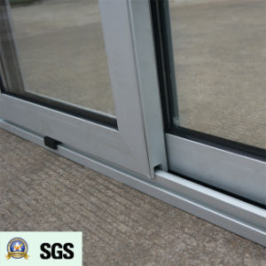 Good Quality Powder Coated Thermal Break Aluminum Sliding Window K01065 pictures & photos