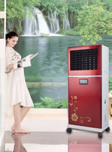 Low Price High Cooling Capability Open Portable Evaporative Air Cooler Lfs-350 with Remote pictures & photos