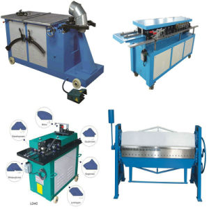 Air Duct Sheet Metal Elbow Lock Forming Machine pictures & photos
