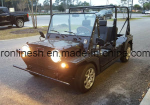 4 Seats or Four Passenger 17.5HP Electric Car/E Car/Beach Buggy/Mini Moke/Low Speed Vehicle/Lsv/Nev with ECE/EEC/Coc pictures & photos