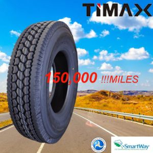 Timax DOT Smartway 295/75r22.5 Traction Truck Tire pictures & photos