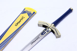Fate Stay Night Excalibur Cosplay Sword/Anime Sword/Cartoon Display Sword pictures & photos