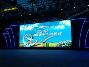 Indoor P10 Full Color LED Display pictures & photos