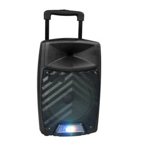 12 Inch Bluetooth Portable Battery Outdoor DJ Speaker with LED Light pictures & photos