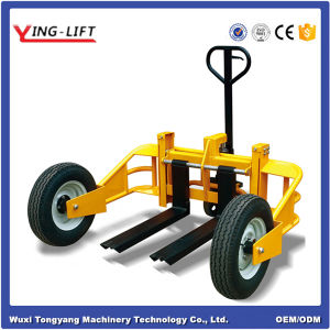 High Lift Hydraulic Hand Pallet Truck for 240mm pictures & photos