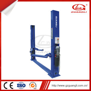 Professional Factory Supply Used 2 Post Hydraulic Car Elevator for Sale (GL-3.2-2E) pictures & photos