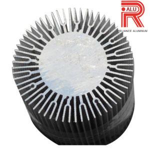 Aluminum/Aluminium Extrusion Profiles of Heat Sink for Industrial pictures & photos
