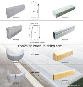 Manufacture Cheap Granite Paving Kerbstone pictures & photos