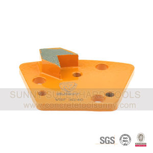 Arrow Segment Trapezoid Magnetic Diamond Metal Bond Floor Grinding Shoes Plate Tools pictures & photos