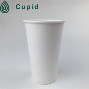 Disposable Paper Cup with Lid and Holder pictures & photos