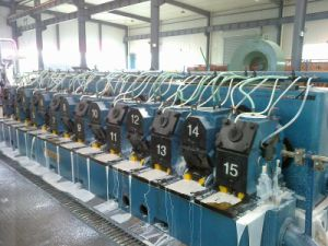 Lgz-1500+255/15y Type Aluminum Rod Continuous Casting and Rolling Line