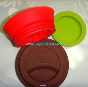 Customized Colorful Food Grade Silicone Rubber Cup Cover pictures & photos
