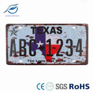 Fun Car Plate / Metal Plate / License Plate / Number Plate/Custom Aluminum pictures & photos
