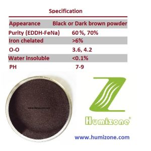 Humizone EDDHA-Fe6 Water Soluble Fertilizer pictures & photos