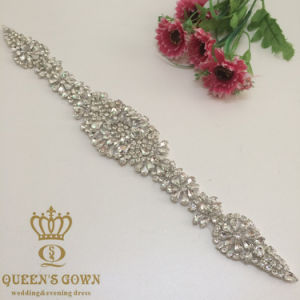 2016 New Rhinestone Applique Trim DIY Wedding Accessories Wedding Dress Belts