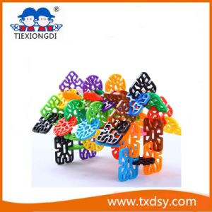 Plastic Education Toy Connecting Building Blocks pictures & photos