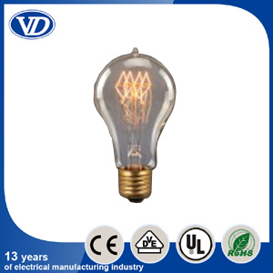 Carbon Filament Incandescent Edison Light Bulb A21