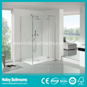 Popular Pivot Shower Cubicle Mounted on Floor (SE306N) pictures & photos