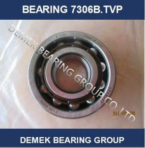 Angular Contact Ball Bearing 7306 B. Tvp with Polymide Cage pictures & photos