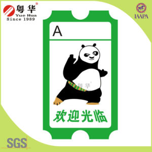 Custom 180g/160g Copperplate Paper Game Lottery Ticket/Arcade Ticket/Amusement Ticket pictures & photos