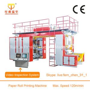 High Speed Plastic Film 6 Colour Flexo Printing Machine pictures & photos