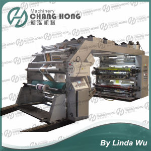 Roll to Roll Paper Flexo Printing Machine (CJseries) pictures & photos