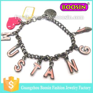 Fashion Lucky Imitation 925 Sterling Silver Bead Charm Bracelet pictures & photos
