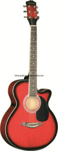 40′′ Cutaway Acoustic Guitar for Adult pictures & photos
