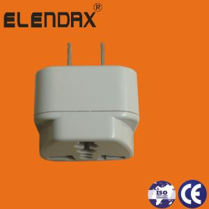 2 Pin Plug to Universal Socket for Philippines/Thailand Market (AP6030) pictures & photos