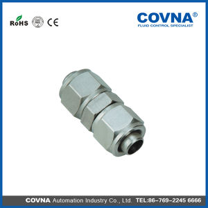 Klu Series Union Straight Pneumatic Fittings Brass Fittings pictures & photos