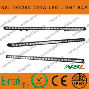 42 Inch 260W CREE LED Light Bar 4X4 off Road Heavy Duty, Sut Military, Agriculture, Marine, Mining Light pictures & photos