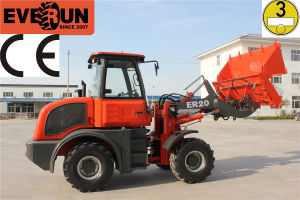 Everun 2015 CE Approval 2.0 Ton Shovel Loader pictures & photos