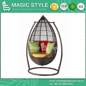 Wicker Chair Rattan Furniture Swing Chair Hammock Chair Hanging Chair Balcony Chair Swinging pictures & photos