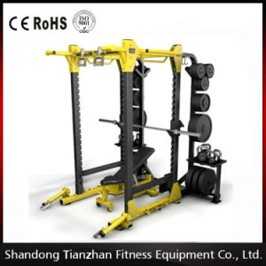 Gym Equipment Weight Lifting/Hammer Strength HD Tz-6073 Power Rack/China Tzfitness pictures & photos