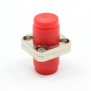 FC Square Type Two-Piece Metal Fiber Optic Adapter pictures & photos