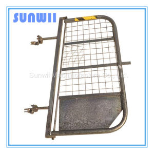 Silver Scaffolding Steel Gate, Barrier Gate pictures & photos