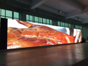 P3 Rental Indoor LED Display-P3 Stage Backdrop LED Display- Glass Window LED Display pictures & photos