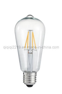 St58 COB LED Filament Bulb with CE RoHS