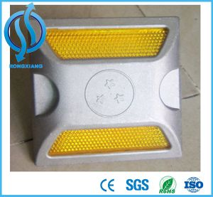 Yellow and White Aluminium Road Stud, Road Reflectors, Road Cat Eyes pictures & photos