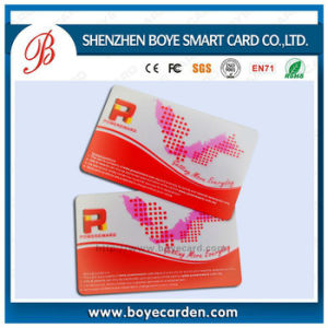 Plastic RFID Smart Chip Contactless IC Card Supply pictures & photos