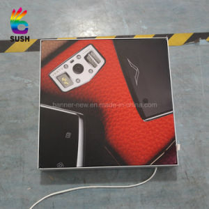 Embedded Strip, Fabric Flexible Film Silicon Edging Light Box (SS-LB17) pictures & photos