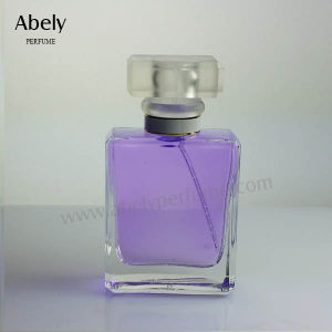 50ml Factory Price Designer Perfume Bottle Glass with Spray Pump pictures & photos