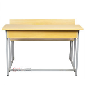 School Furniture Classroom Double Student Desk and Chair (SF-58A) pictures & photos