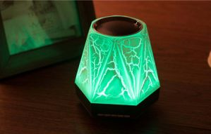 Colorful LED Nightlight Wireless Bluetooth Speaker with Alarm Clock pictures & photos