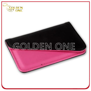 Promotional Creative Red PU Leather Business Card Holder pictures & photos