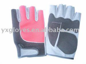 Half Finger Glove-Leather Glove-Sports Glove-Safety Glove pictures & photos