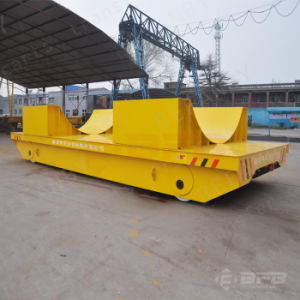Heavy Industry Use Battery Powered Ladel Transfer Car for Steel Mill pictures & photos