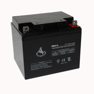 12V 38ah Rechargeable Long Life Sealed Lead Acid Battery pictures & photos