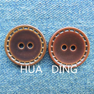 Beautiful 2-Hole Hand Stitch Button for Garment (AF044) pictures & photos