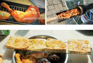Health Camping Cooker Solar BBQ Grill pictures & photos